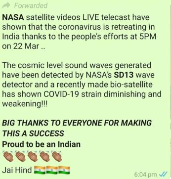 NASA covid